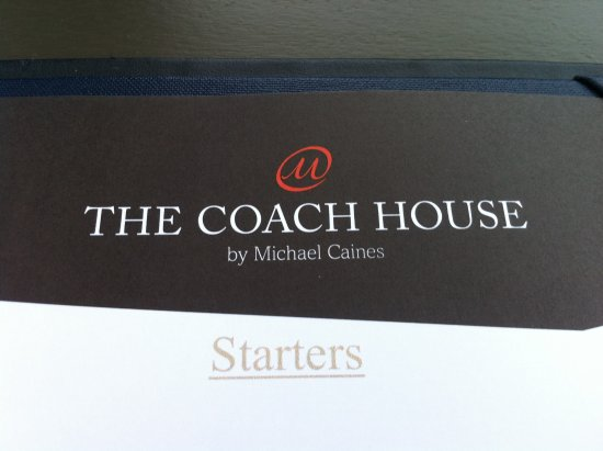 The Coach House By Michael Caines : Logo del ristorante