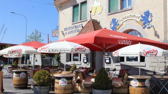 Terrasse Zurich Brunch : Sommer Terrasse Picture of Restaurant Schlachthof