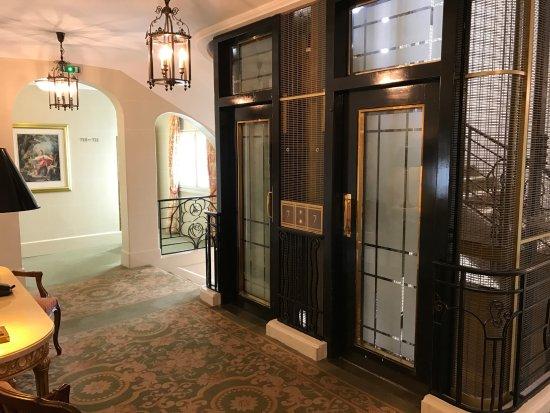 elevator and staircase picture of millennium hotel paris opera paris tripadvisor. Black Bedroom Furniture Sets. Home Design Ideas