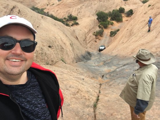 Dan Mick's Guided Jeep Tours: Stairway to Heaven - this was worth the price of the trip!
