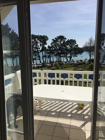 Fouesnant, France: chambre vue mer