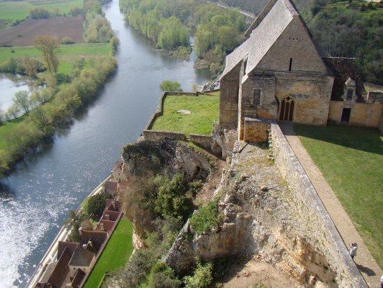 Chateau de Beynac: vue des remparts