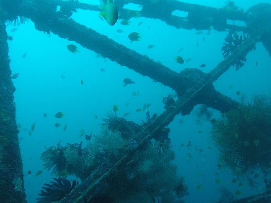 Malay, Filippijnen: ship wreck
