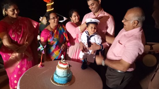 Covelong, India: Happy 1 St Birthday Viaan