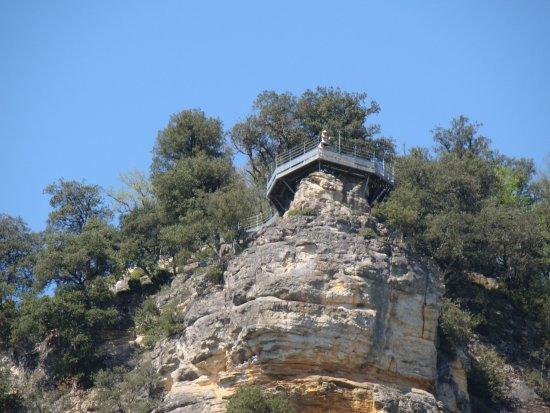 Vezac, França: le belvédere