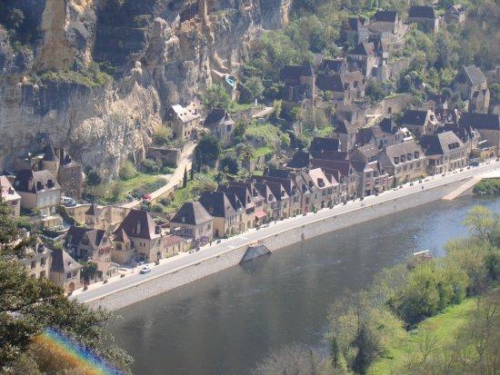 Les Jardins de Marqueyssac : la vue du belvedere