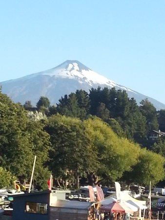 Villarrica Volcano: The glaciar Villarica
