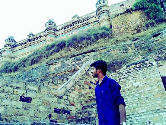 Gwalior Fort Night And Day Photo De Gwalior Fort Gwalior