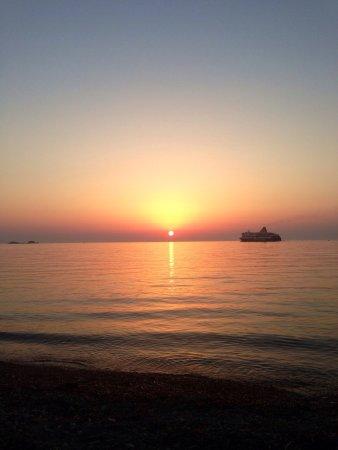 Sunset parikia Paros.