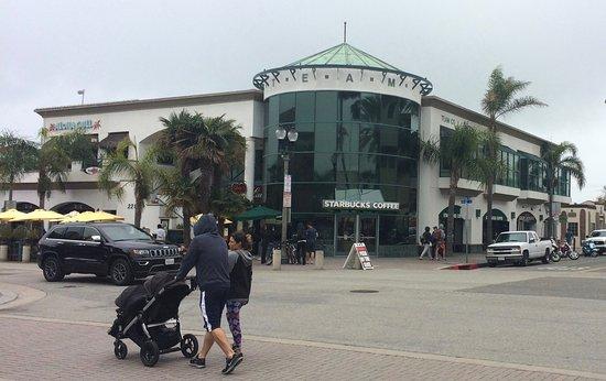 Downtown Huntington Beach Starbucks At Main St