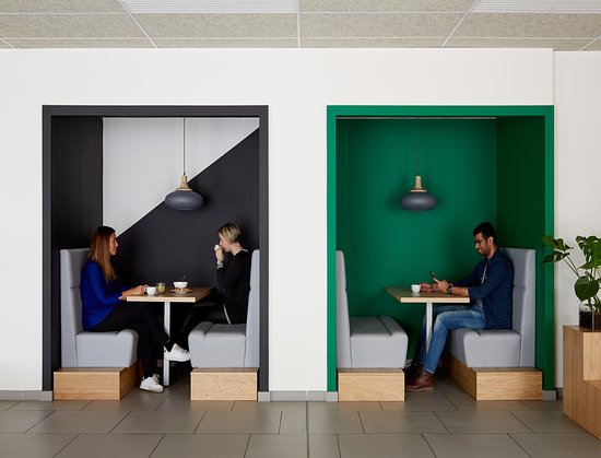 La Defense, فرنسا: Cafeteria
