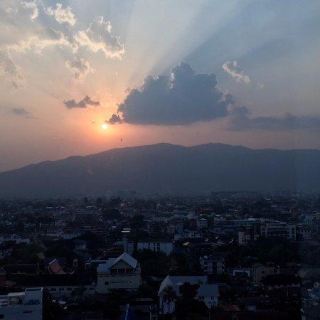 Le Meridien Chiang Mai: Doi Suthep is breathtaking!
