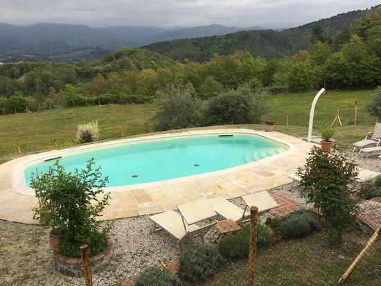 Vicchio, Italy: Location da favola, proprietaria e personale accogliente e disponibile, colazione ABBONDANTISSIM