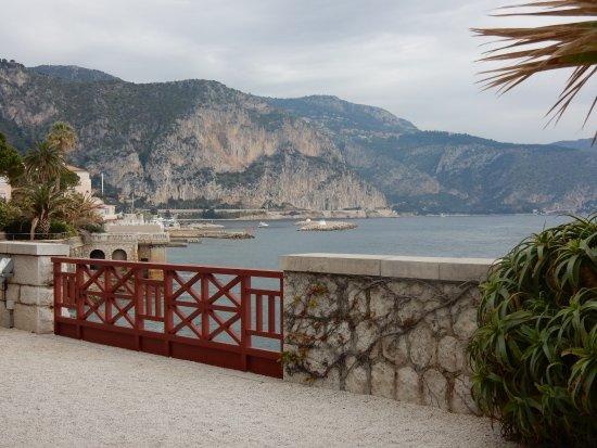 Villa Grecque Kérylos: View from the terrace