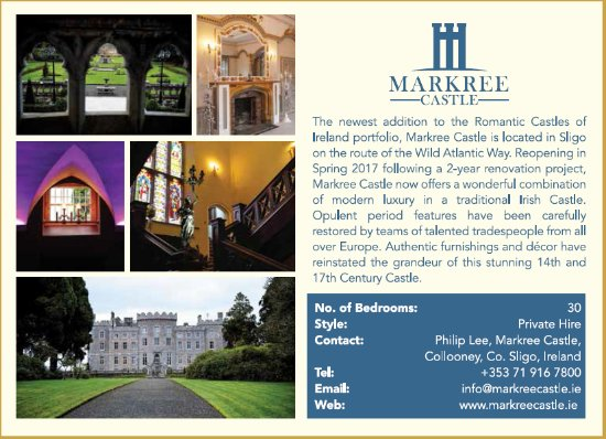 Collooney, Irlanda: Markree Castle 2017