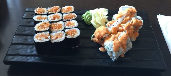 Coquitlam, كندا: Spicy Combo (Spicy Tuna, Spicy Salmon And Spicy Chopped Scallop)