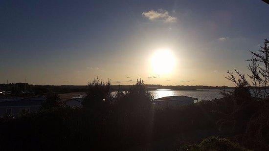 Carantec, فرنسا: Vue de la terrasse