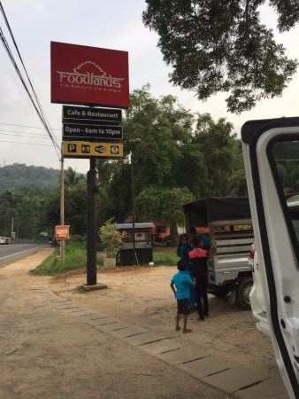 Ambepussa, Sri Lanka: Foodlands Transit Lounge
