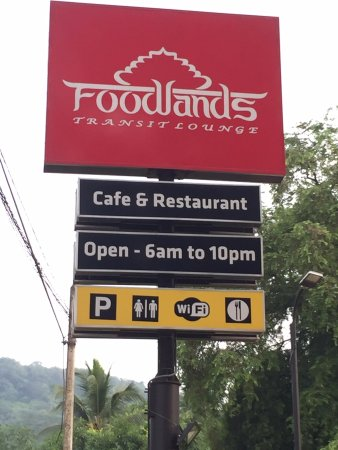 Ambepussa, سريلانكا: Foodlands Transit Lounge