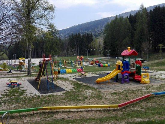 Amato Parco giochi all'aperto - Foto di Park Camping Nevegal, Belluno  WV95