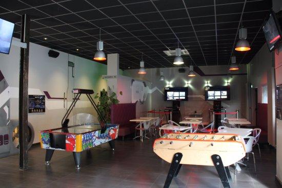 Echirolles, فرنسا: La salle d'accueil du centre Ultilate