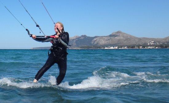 Alcudia, Spanien: great feeling! it is me!!!