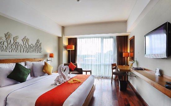 Mercure Bali Harvestland Kuta: Superior Room - King Bed Type with standard Honeymoon set up