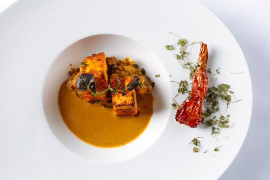 Benares Restaurant & Bar: Paneer Rogan Josh- Classic and Contemporary Cottage Cheese, Rogan Jus,