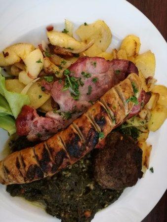 Gasthaus Krombach: ¡Delicioso! Eso sí... mucha comida!