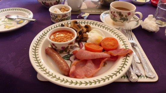 Lochearnhead, UK: Delicious Scottish breakfast