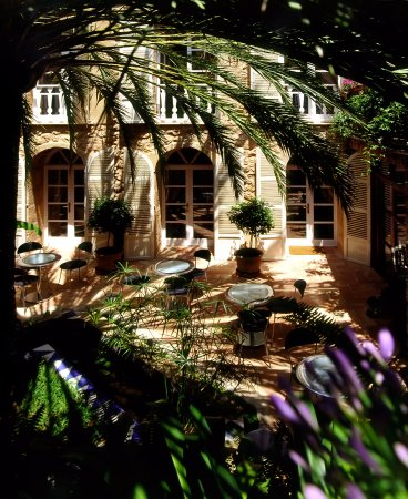 Fornalutx, España: patio