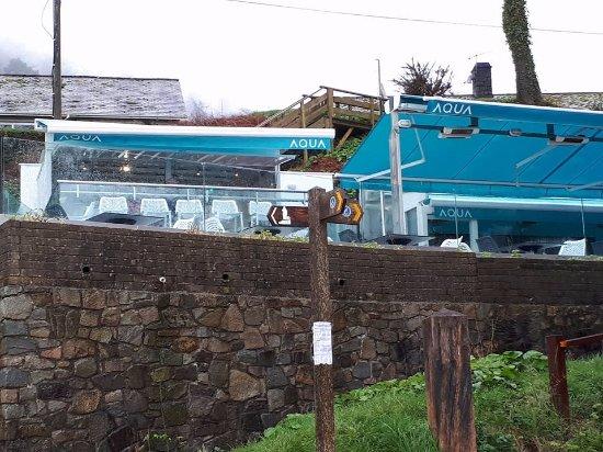 Llanbedrog, UK: Aqua Beach Bar . Restaurant