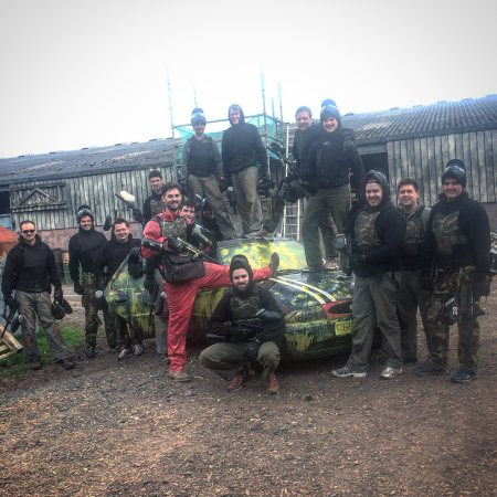 Penrith, UK: Paintball Team