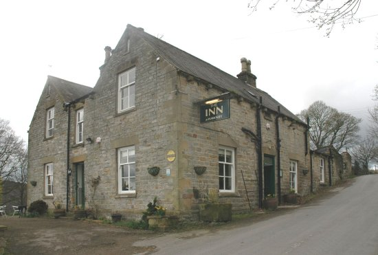 The Inn at Hawnby: The Inn, looking up the hill