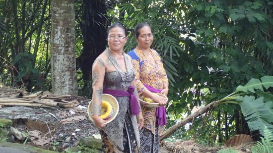 Tegalalang, Indonésia: The locals were warm and friendly
