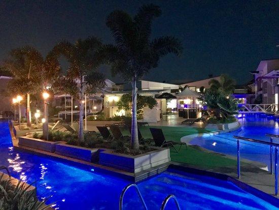 Seventeen Seventy, Australia: Our evening view