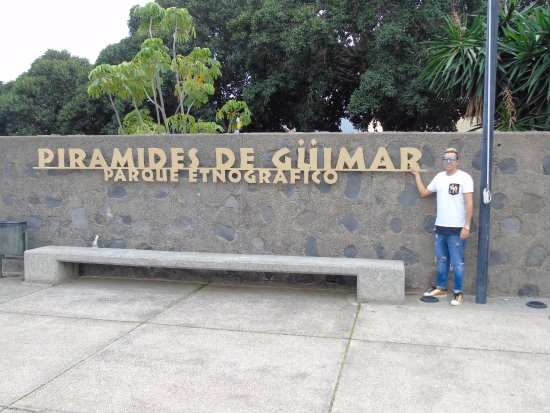 Гимар, Испания: Entrada al recinto