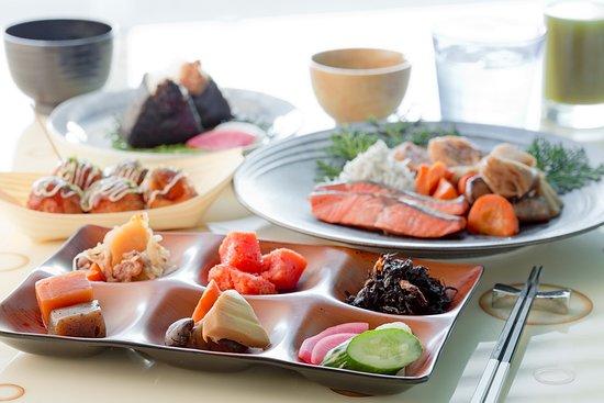 Hotel Universal Port : 朝食バイキングイメージ(和食)