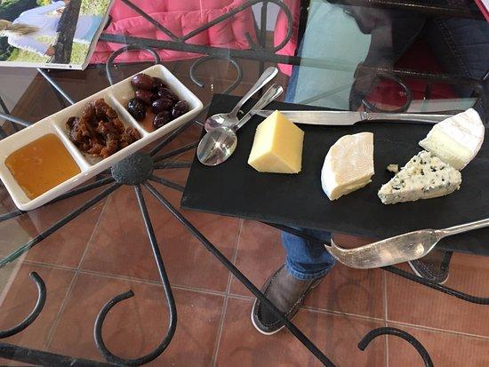 Pokolbin, Australie : members cheese plate