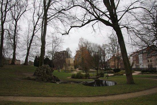 Leuven, Belgia: Lovely park
