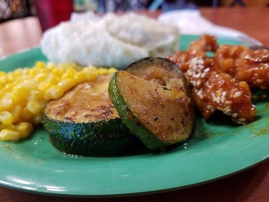 McDonough, Джорджия: Delicious zucchini!