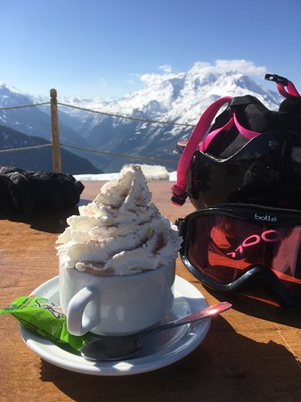La Rosiere, Francia: Amazing Hot chocolate!
