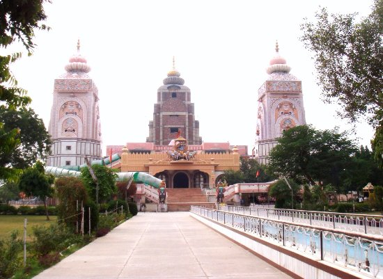 Hisar, อินเดีย: great temple in agroha