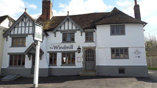 Hollingbourne, UK: Front of Pub