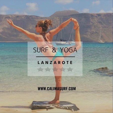Caleta de Famara, İspanya: SURF & YOGA CAMP / LANZAROTE