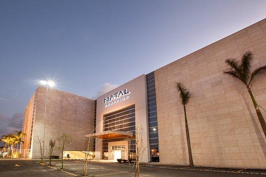 Natal Shopping Center: Fachada do nosso Shopping.