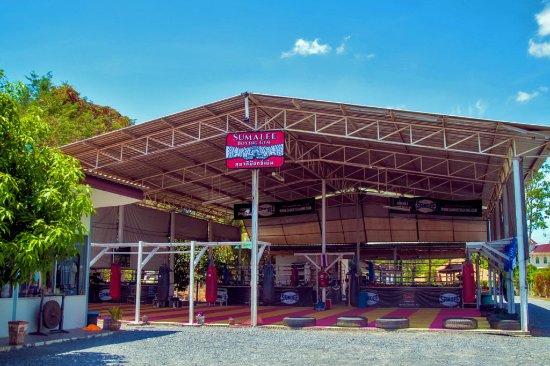 Sumalee Boxing Gym: Sumalee Entrance