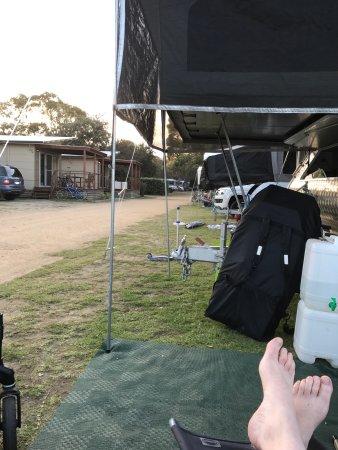 Pambula, Avustralya: Kickin' it!