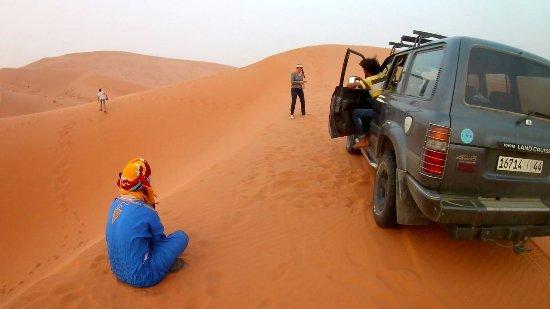 Hassilabied, Morocco: De camino a las haimas con el 4x4