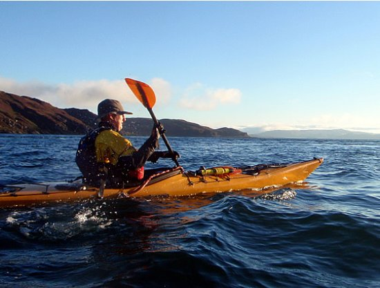 Kendal, UK: Sea kayaking with Key Adventures